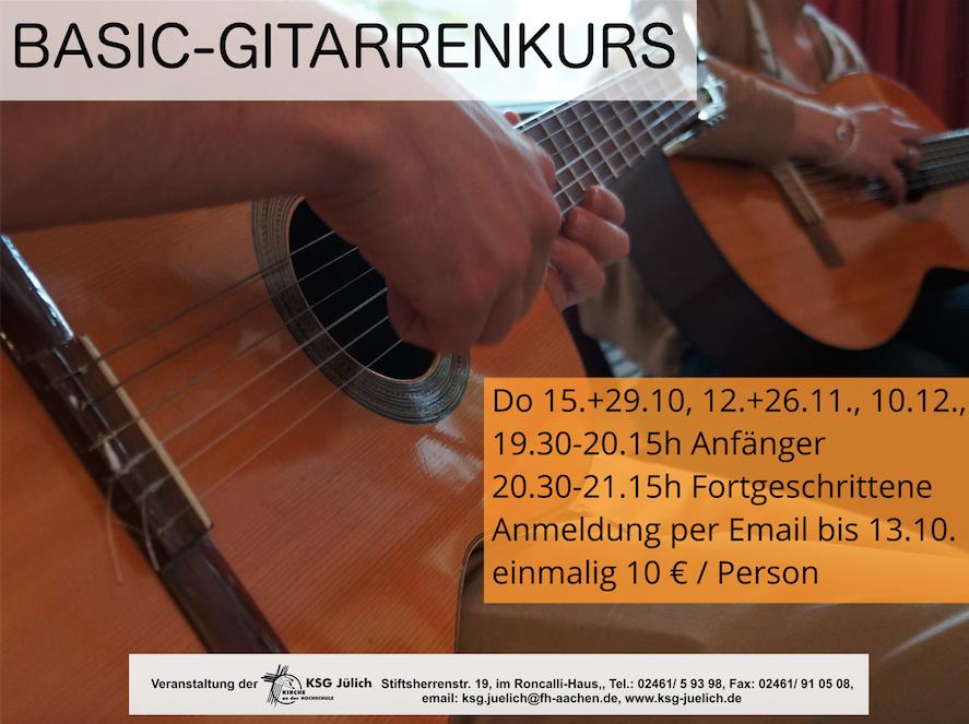 Du möchtest Gitarre spielen?
