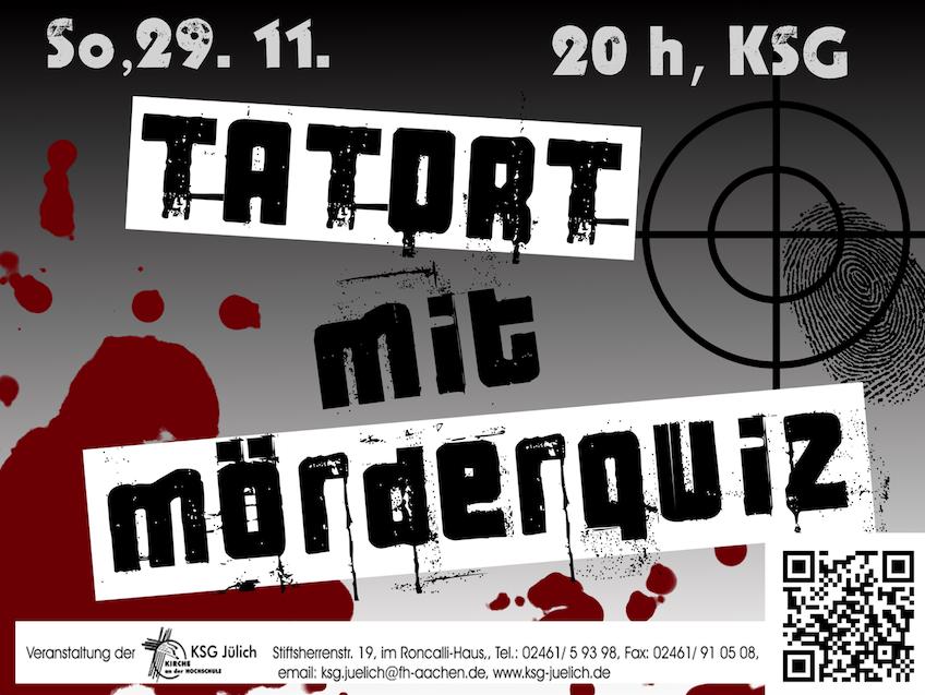 Tatort und Mörderquiz