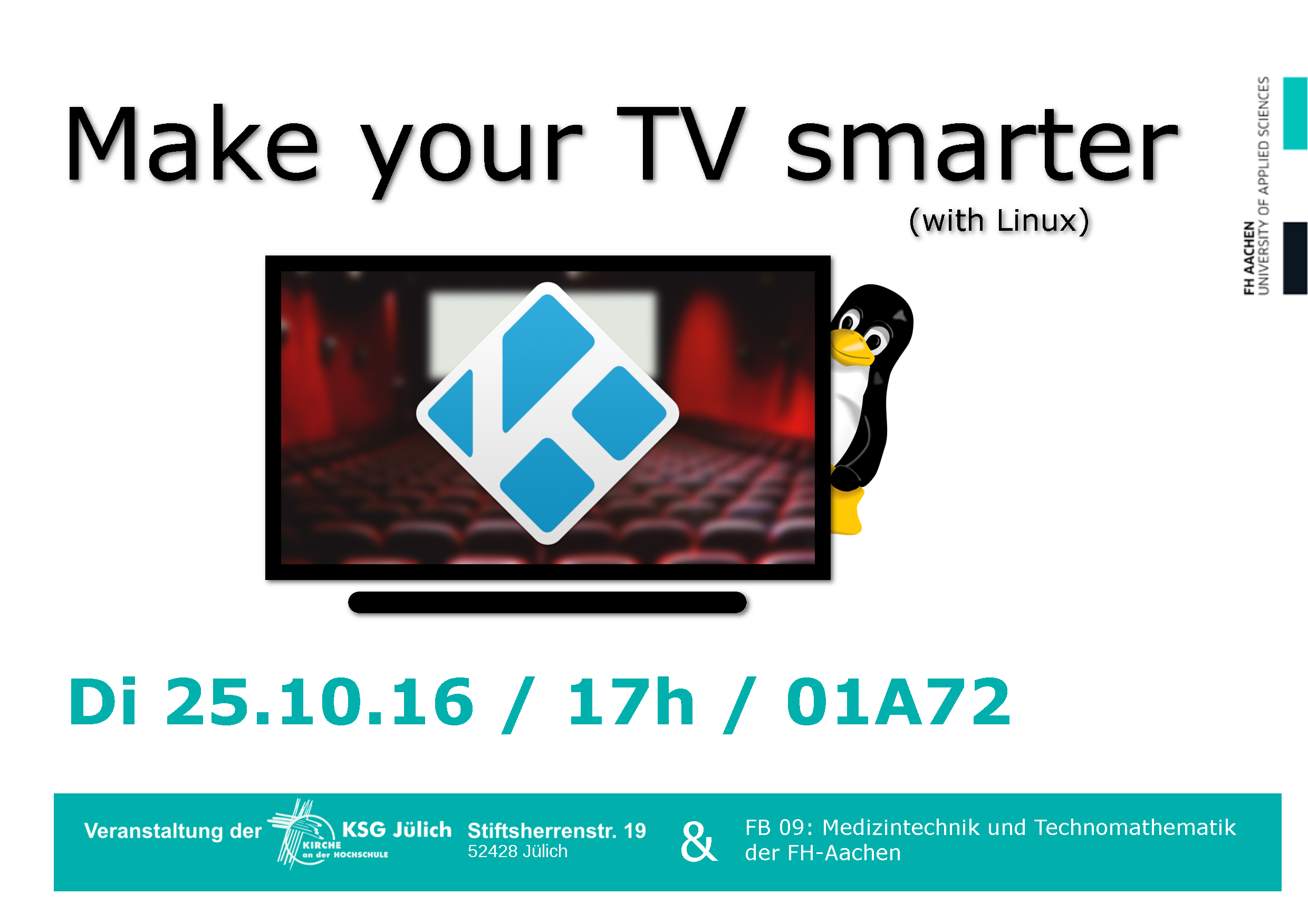 Make you TV smater (with Linux)