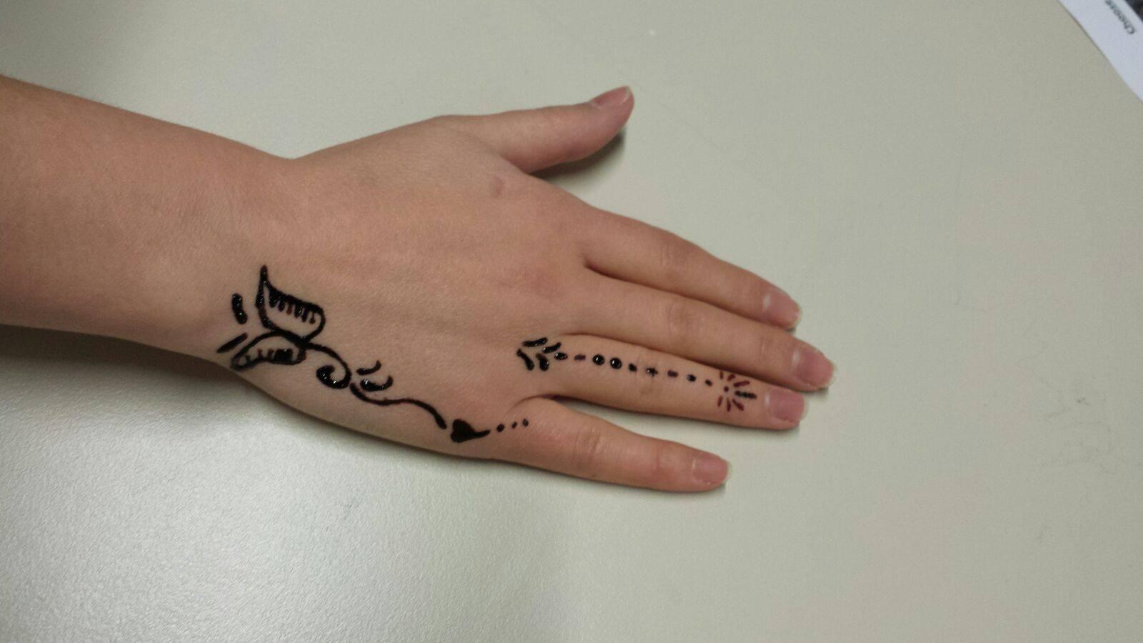 Henna Tattoo Einfach Klein: Indische Kunst Zum Anfassen Und Ausprobieren