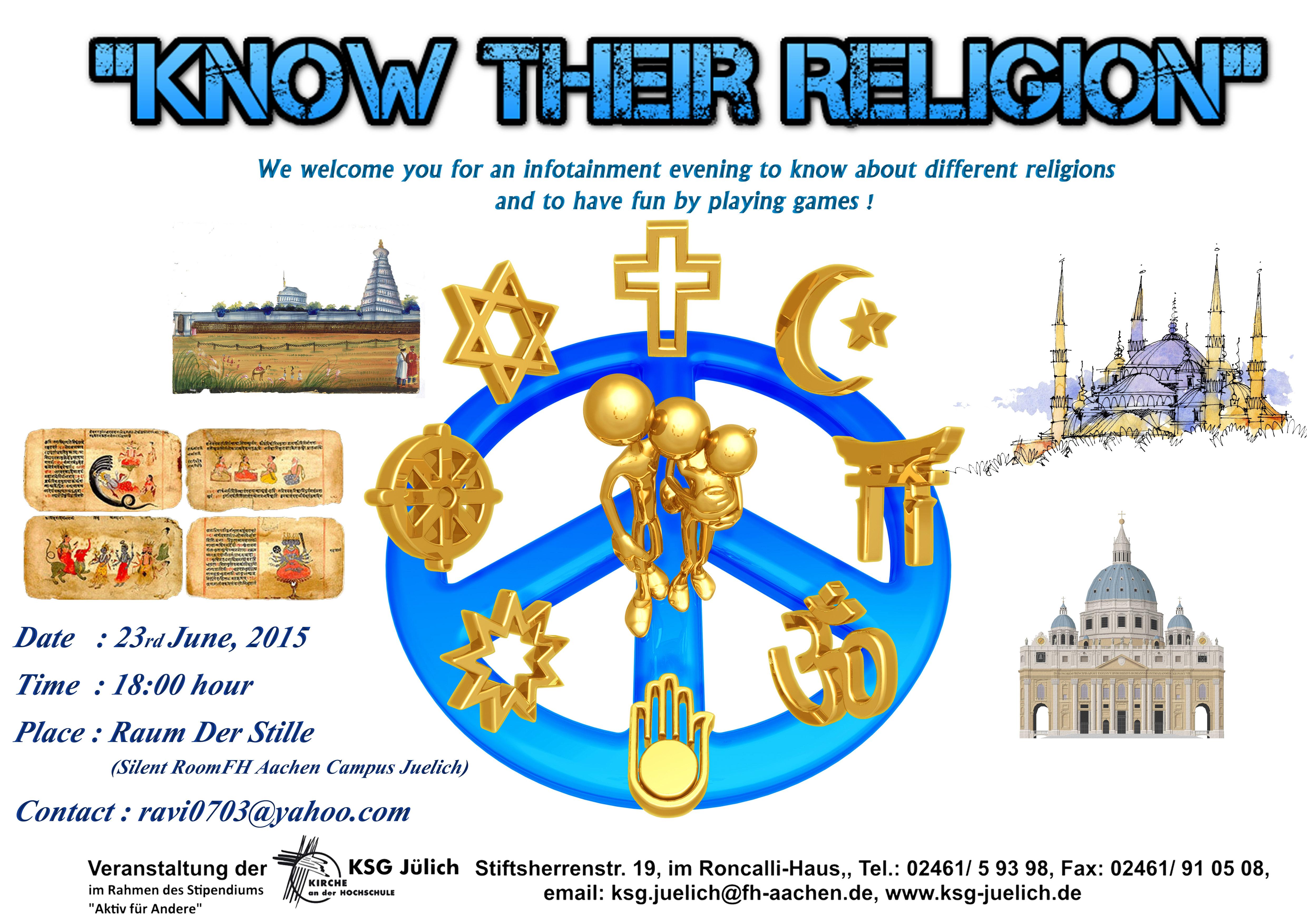 Religion; Glauben