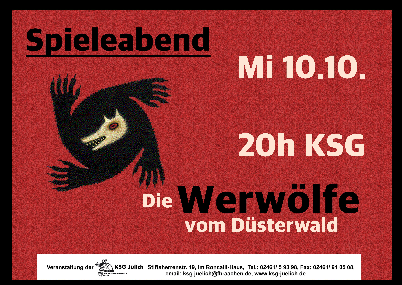 Spieleabend Werwolf