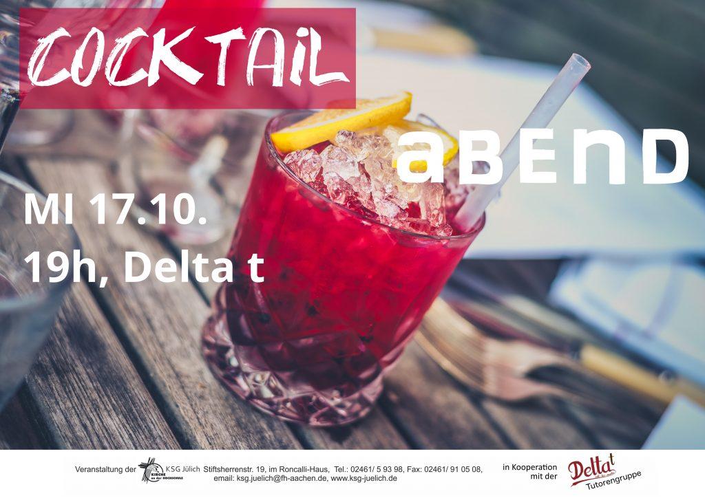 Cocktailabend im Delta t