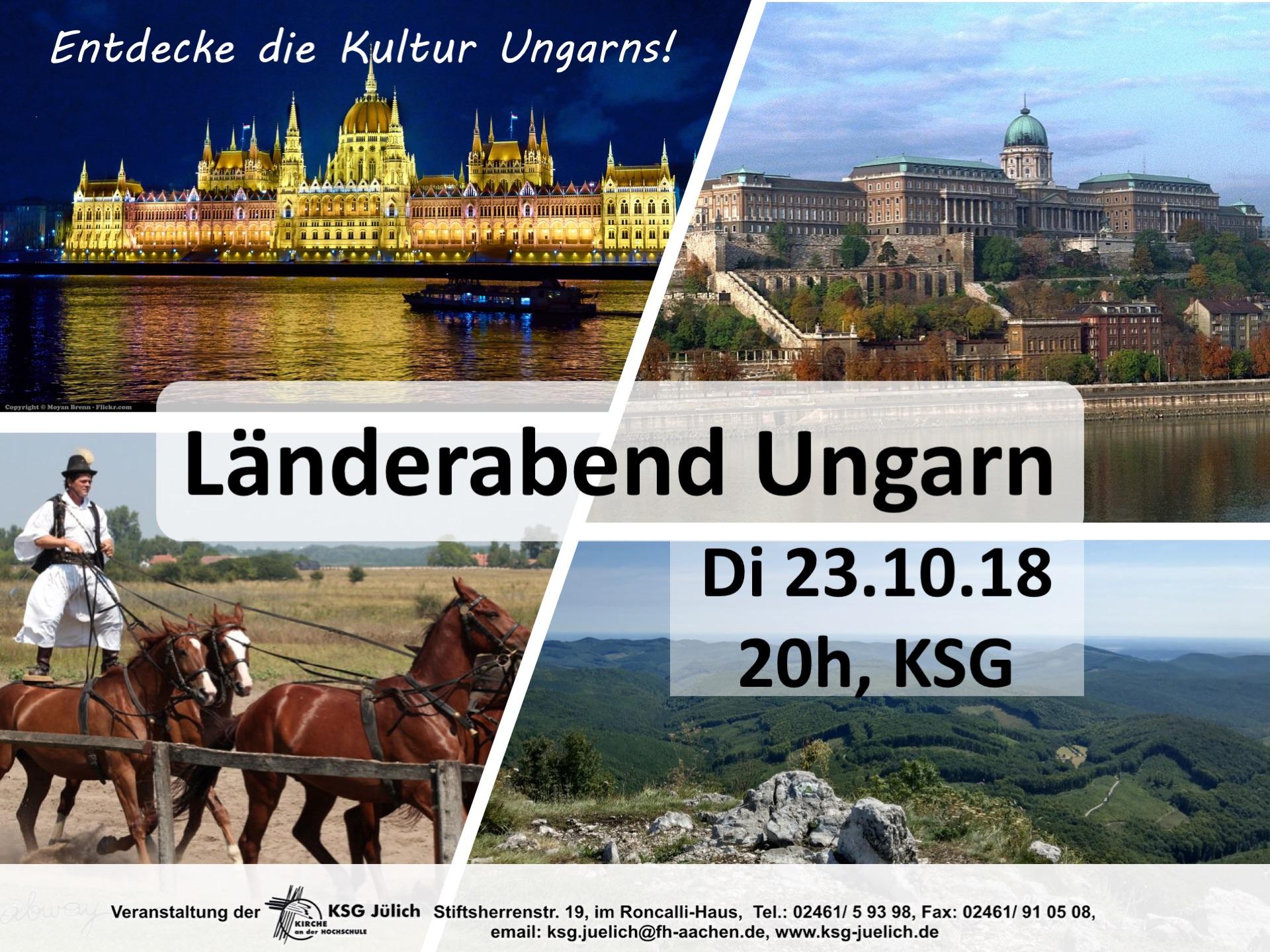 Länderabend Ungarn